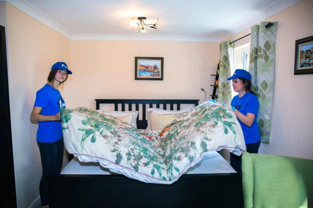 end of tenancy cleaning services in london